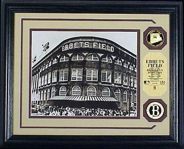 Brooklyn Dodgers Ebbets Field Photomint