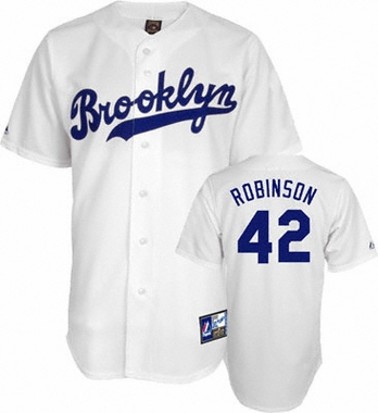 Brooklyn Dodgers Jackie Robinson Replica Throwback Jersey