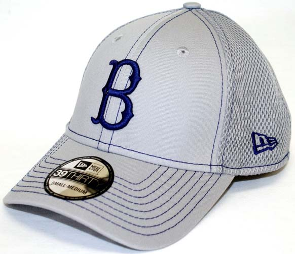 cb8ef5ff505a38 Brooklyn Dodgers New Era 39THIRTY Neo Fitted Hat - Gray