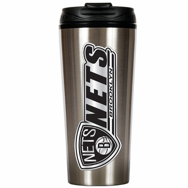 Brooklyn Nets 16 oz. Thermo Travel Tumbler