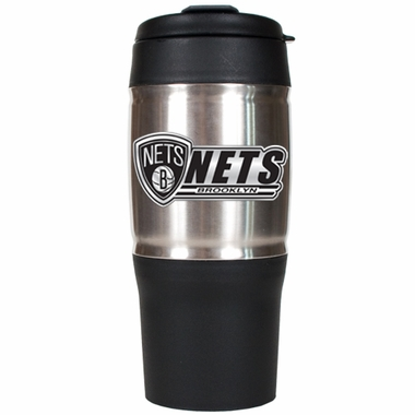 Brooklyn Nets 18oz Oversized Travel Tumbler