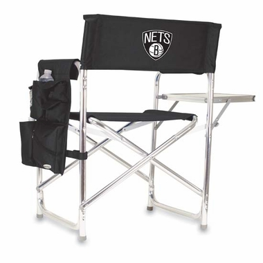 Brooklyn Nets Sports Chair (Black)