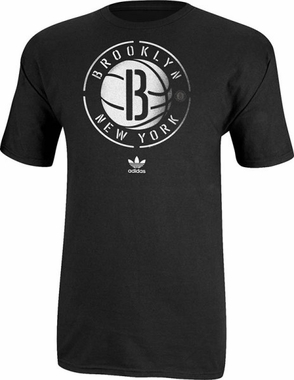 Brooklyn Nets Super Soft Distressed T-Shirt