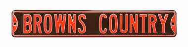 Browns Country Street Sign
