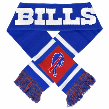 Buffalo Bills 2012 Team Stripe Knit Scarf