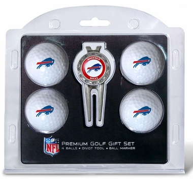 Buffalo Bills 4 Ball and Divot Tool Set