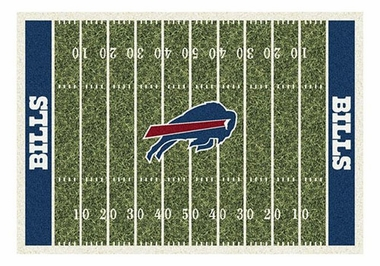 "Buffalo Bills 5'4"" x 7'8"" Premium Field Rug"