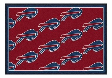 "Buffalo Bills 5'4"" x 7'8"" Premium Pattern Rug"