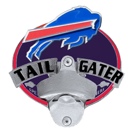 buffalo bills bottle opener hitch cover. Black Bedroom Furniture Sets. Home Design Ideas