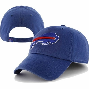 Buffalo Bills Cleanup Adjustable Hat