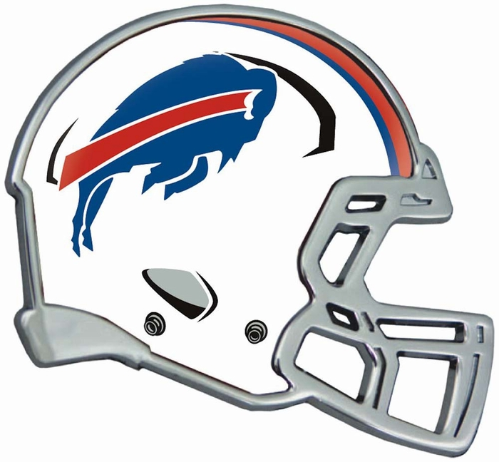 buffalo bills helmet auto emblem