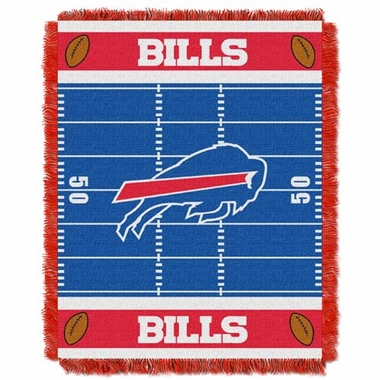 Buffalo Bills Jacquard BABY Throw Blanket