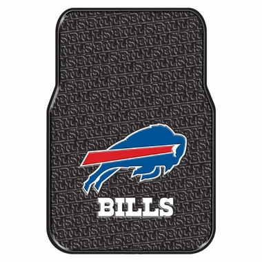Buffalo Bills Set of Rubber Floor Mats