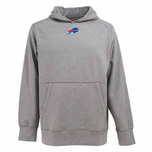 Buffalo Bills Mens Signature Hooded Sweatshirt (Color: Gray) - XX-Large