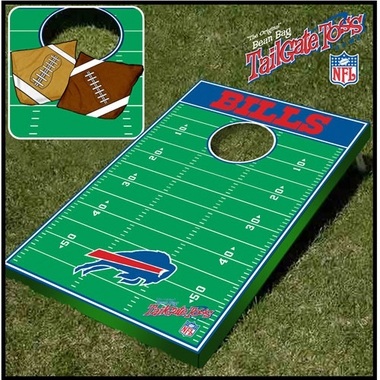 Buffalo Bills Tailgate Toss Cornhole Beanbag Game