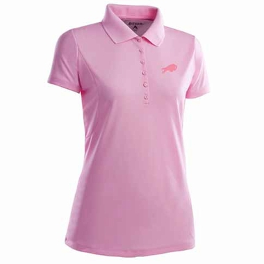 Buffalo Bills Womens Pique Xtra Lite Polo Shirt (Color: Pink)