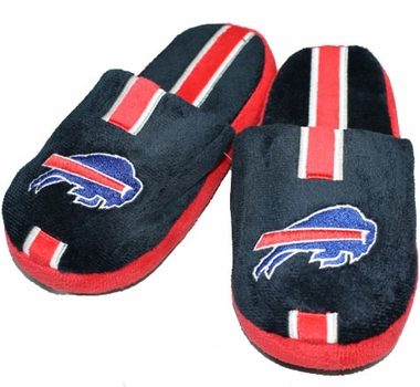 Buffalo Bills YOUTH Team Stripe Slide Slippers