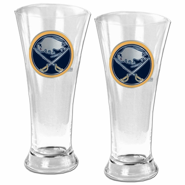 Buffalo Sabres 2 Piece Pilsner Glass Set