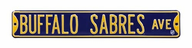 Buffalo Sabres Ave Street Sign