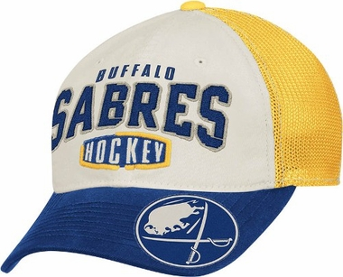 Buffalo Sabres Garment Washed Meshback Flex Slouch Hat