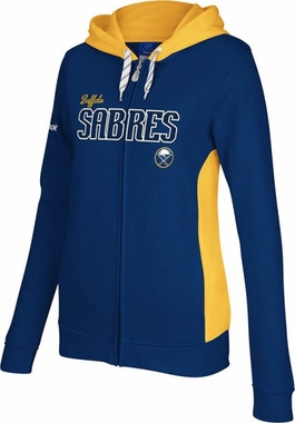 Buffalo Sabres Womens Core Full Zip Hooded Sweatshirt