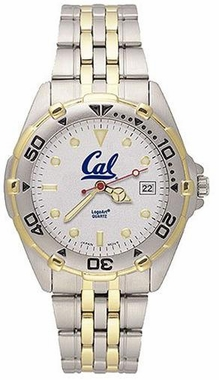 Cal All Star Mens (Steel Band) Watch