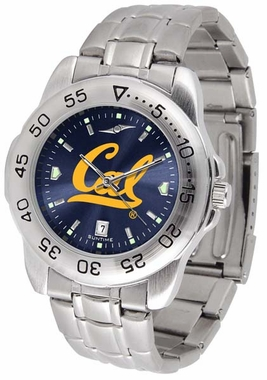 Cal Sport Anonized Men's Steel Band Watch