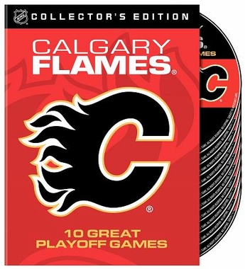 Calgary Flames 10 Greatest Playoff Games DVD