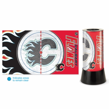 Calgary Flames Rotating Lamp