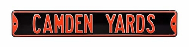 Camden Yards Street Sign