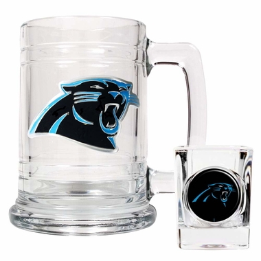 Carolina Panthers Boilermaker Set