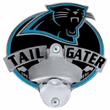 Carolina Panthers Bottle Opener Hitch Cover