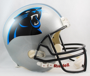 Carolina Panthers Riddell Deluxe Replica Helmet