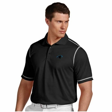 Carolina Panthers Mens Icon Polo (Color: Black)