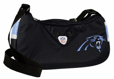 Carolina Panthers Jersey Material Purse