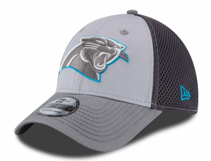 adaf01d0065 ... best price carolina panthers new era 39thirty grayed out neo flex fit  hat 3c152 8267c