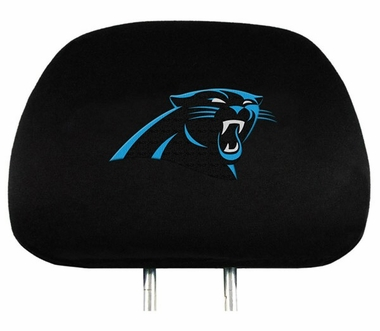 Carolina Panthers Headrest Covers