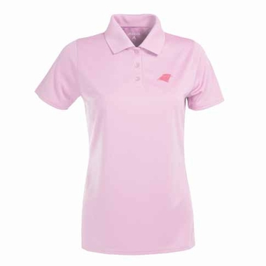 Carolina Panthers Womens Exceed Polo (Color: Pink)