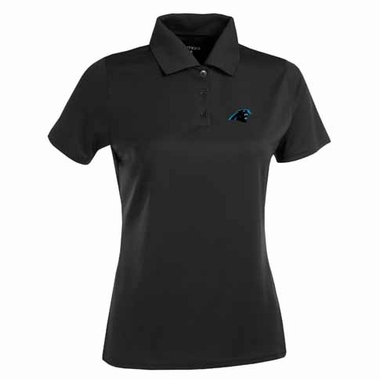 Carolina Panthers Womens Exceed Polo (Color: Black)