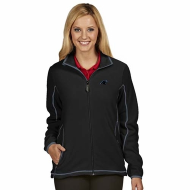 Carolina Panthers Womens Ice Polar Fleece Jacket (Color: Black)