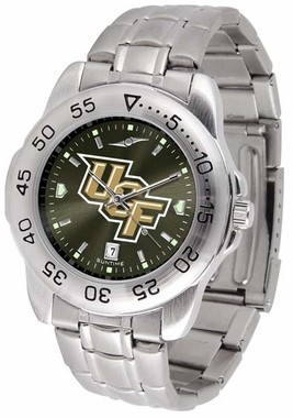 Central Florida Sport Anonized Men's Steel Band Watch