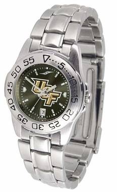 Central Florida Sport Anonized Steel Band Womens Watch