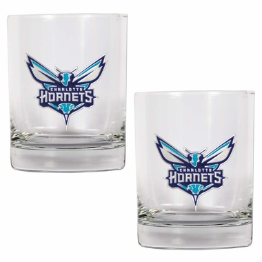 Charlotte Hornets Double Rocks Set