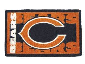 Chicago Bears 18x30 Bleached Welcome Mat