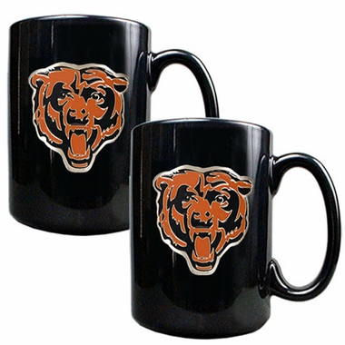 Chicago Bears 2 Piece Coffee Mug Set