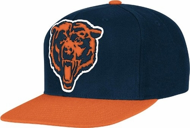 Chicago Bears 2-Tone Vintage Snap back Hat