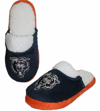 Chicago Bears 2012 Womens Team Color Sherpa Glitter Slippers