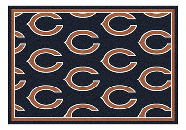 "Chicago Bears 5'4"" x 7'8"" Premium Pattern Rug"