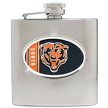 Chicago Bears 6 oz. Hip Flask