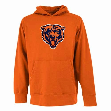 Chicago Bears Big Logo Mens Signature Hooded Sweatshirt (Color: Orange)